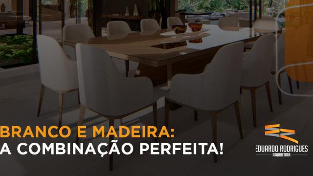 Banco com Madeira na cozinha